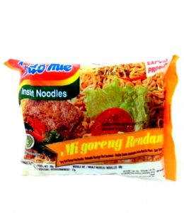Indomie Mi Goreng Rendang Instant Noodles | Buy Online at the Asian Cookshop